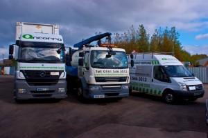 Ancorra Environmental Services Fleet