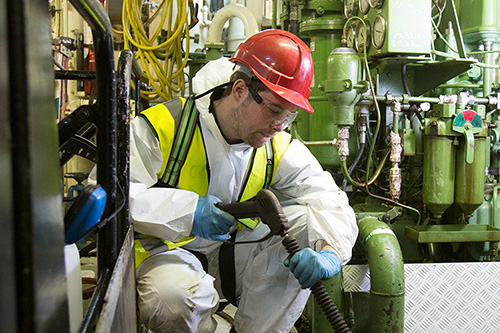 vessel and tank cleaning services